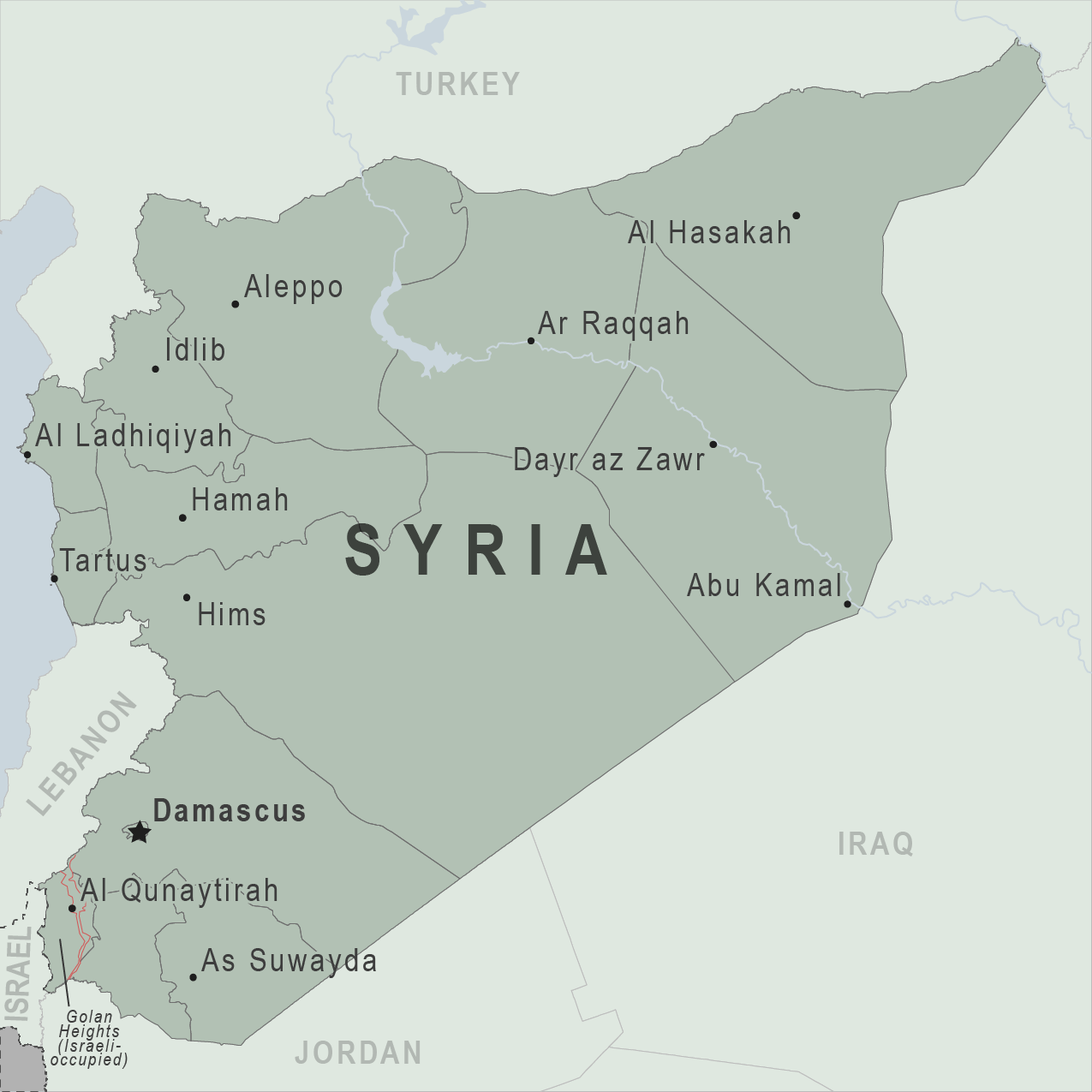 Map - Syria