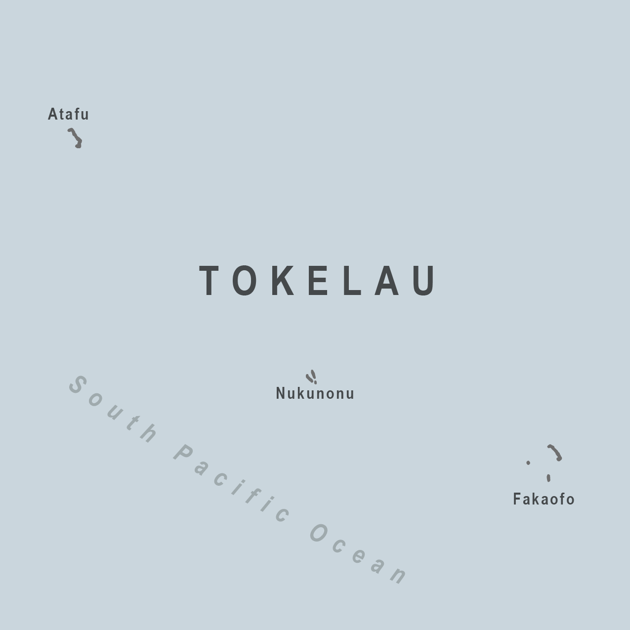 Map - Tokelau