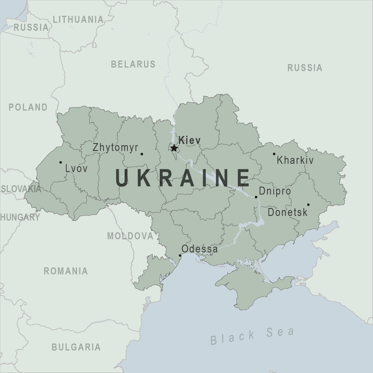 Health Information for Travelers to Ukraine - Clinician view ...
