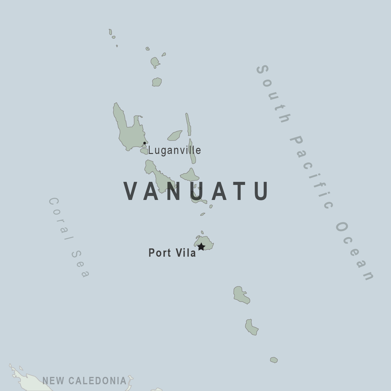 Health Information For Travelers To Vanuatu Traveler View - Vanuatu map