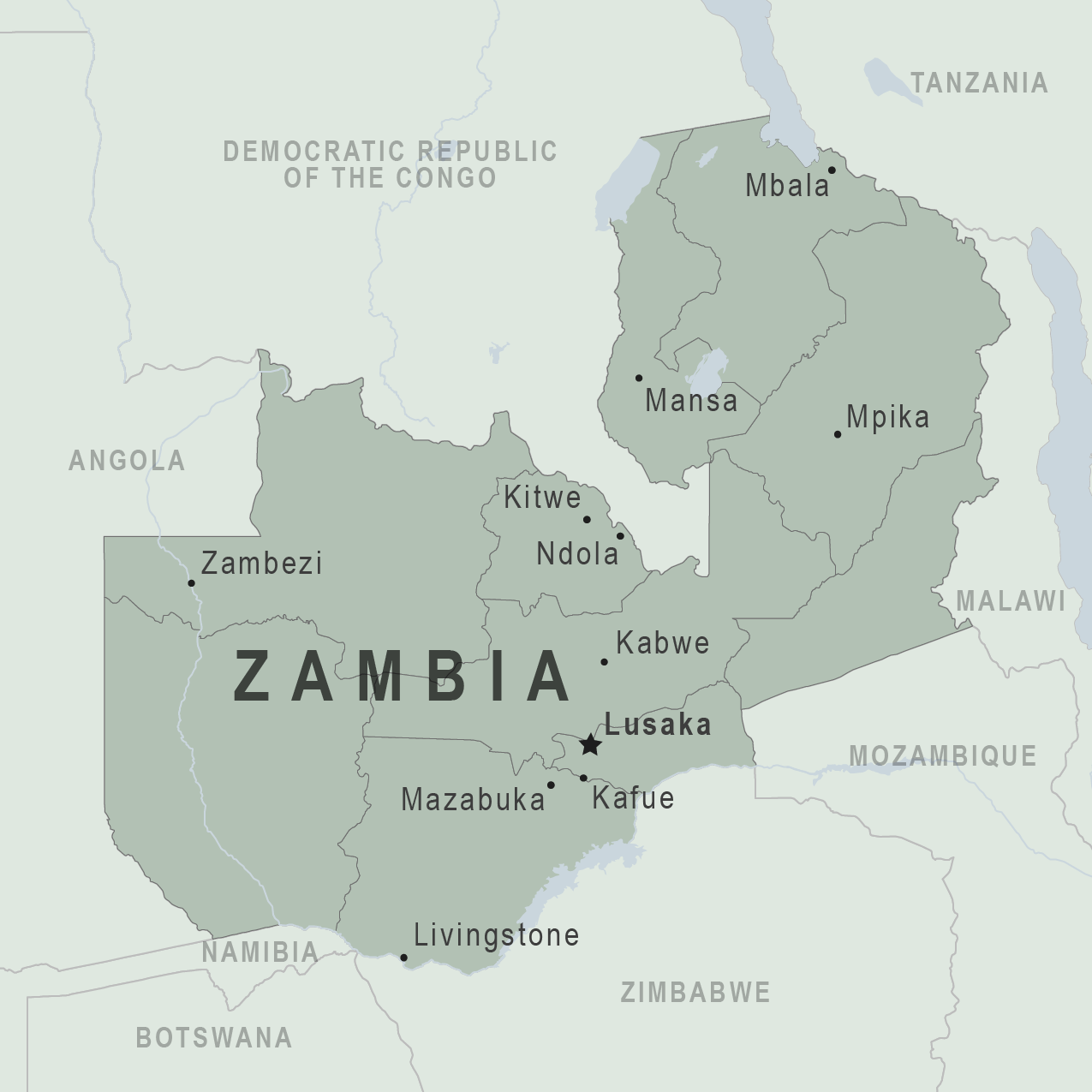 Health Information for Travelers to Zambia - Traveler view