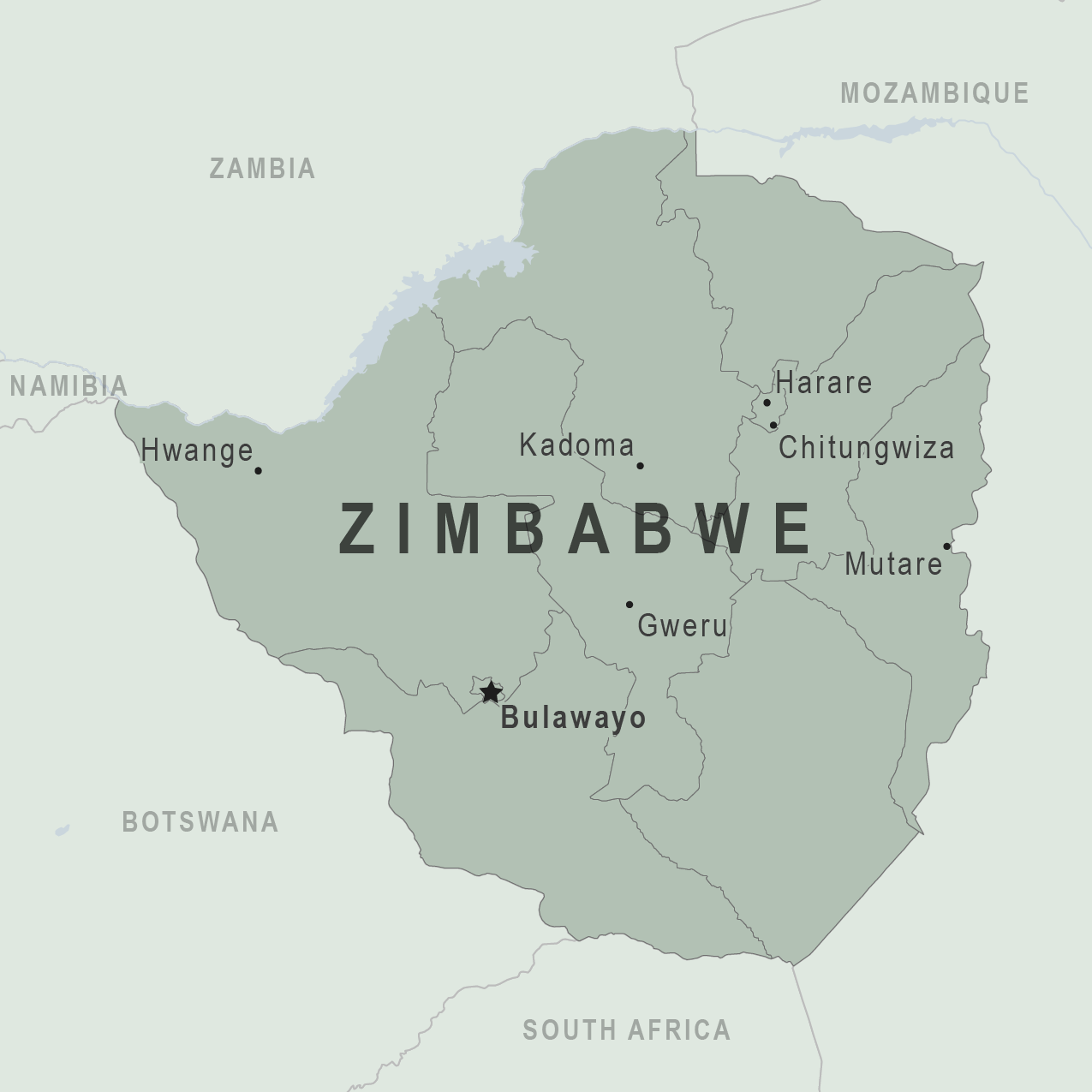Map Of Africa Zimbabwe.Health Information For Travelers To Zimbabwe Traveler View