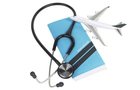stethoscope with airplane