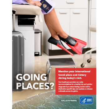 Going places? Mention travel to your doctor.