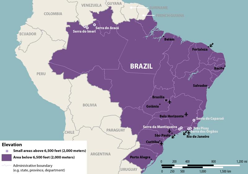 Alert  Zika Virus in Brazil  PassportsOnlineorg