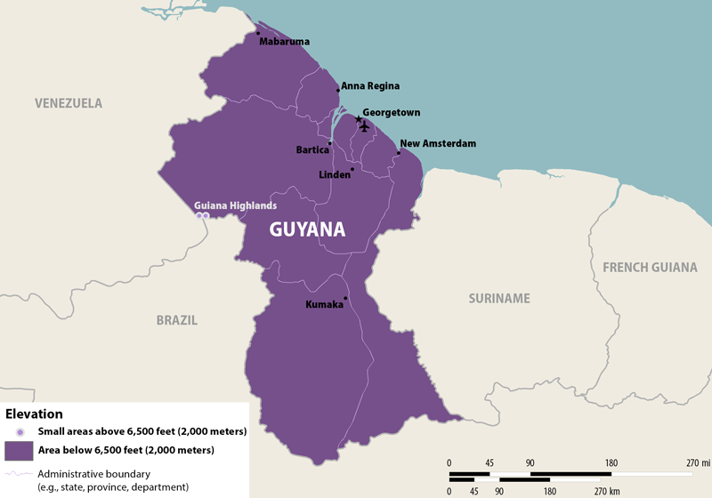 Alert Zika Virus in Guyana PassportsOnlineorg