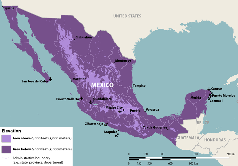 Zika Virus In Mexico Alert Level 2 Practice Enhanced